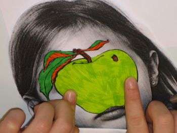 travail sur Magritte et le portrait