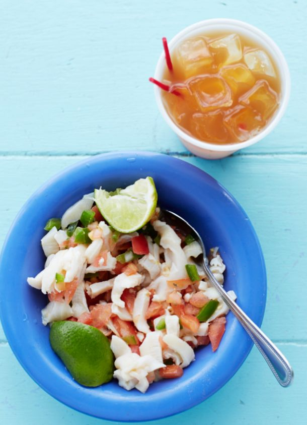 Da Conch Shack, Turks and Caicos-- an expat chef cooks up the freshest possible conch.