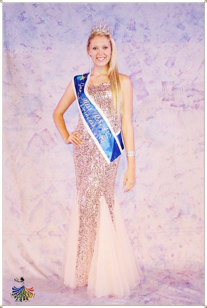Jnr Miss RSA 2015 - 1st Princess Tharin Grobler