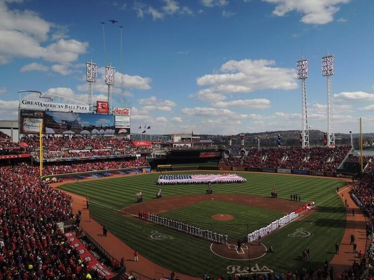 Flyover moments before first pitch. #OpeningDay