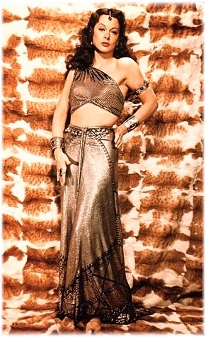 Hedy Lamarr as Delilah   1951  Assiut costume designed by Edith Head