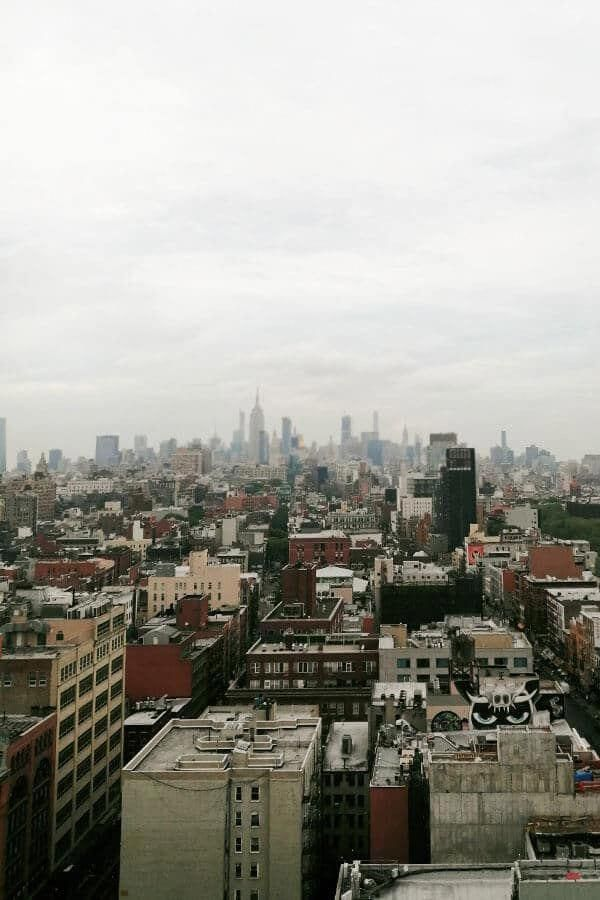 Rooftop Views From A Rooftop Bar In Chinatown Manhattan New York City With Empire State Building In The Distance Nyc Newyork Newyorkcity Rooftop Thingsto In 2020
