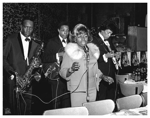 Esther Phillips with King Curtis, Cornell Dupree, and Jimi Hendrix http://www.nepr.net