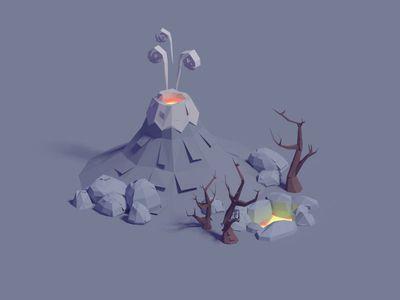 Paper volcanic assets
