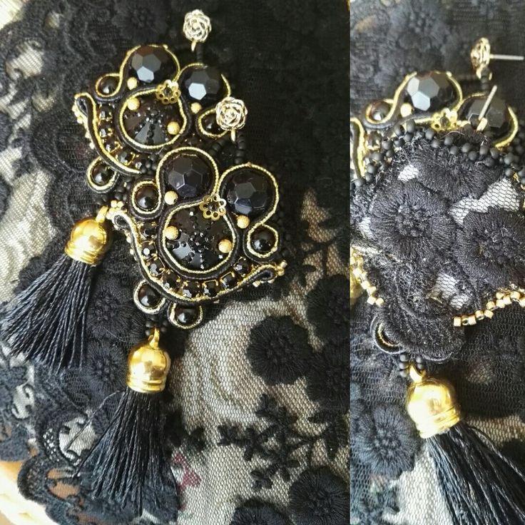 Sussana - soutache earrings