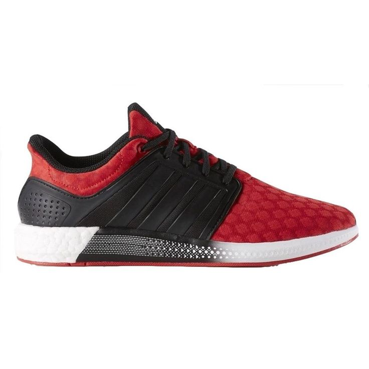 Mens Adidas Solar rnr Boost Red Athletic Running Sport Shoes S76709 Sizes  1112