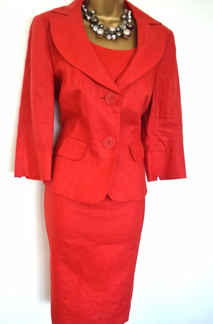 #Collection debenhams dress #jacket suit size 14 red #mother of the bride / groom,  View more on the LINK: http://www.zeppy.io/product/gb/2/191966803243/