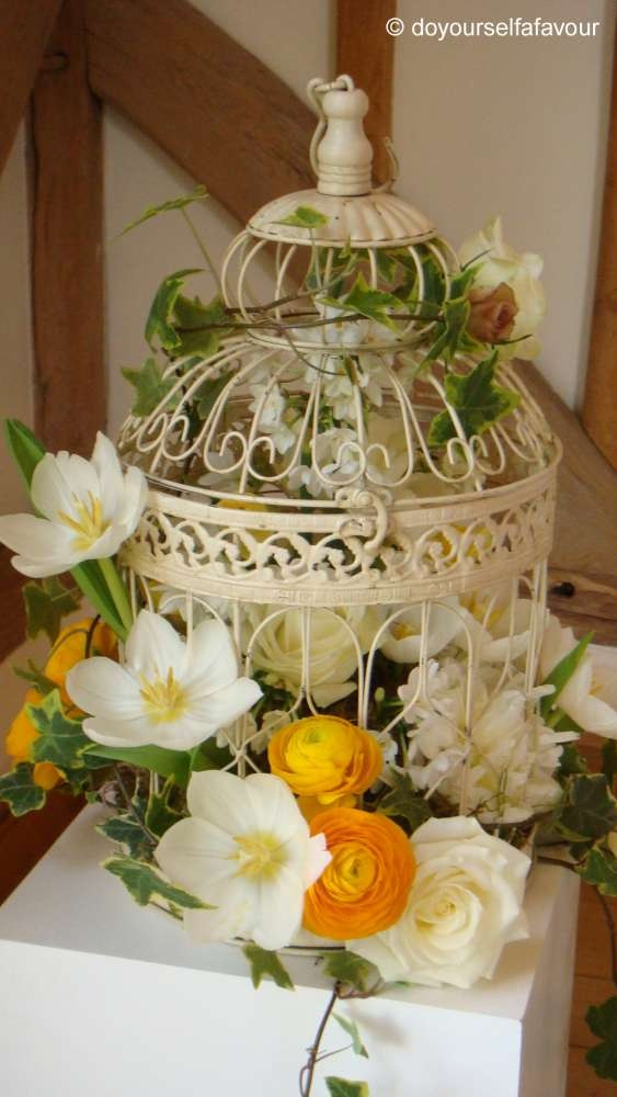 Best birdcage centerpieces and crafts images on