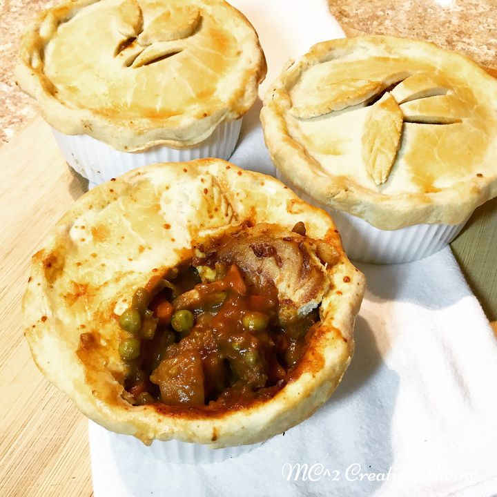 Pot pies fall in the comfort food category, and we do love our comfort foods in this house. Chicken pot pie is something I've made often, but for some reason I rarely make beef pot pie. Not that I …