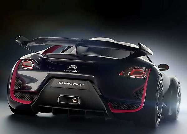 Citroen Survolt Concept A Sports Car With Electric Drive From