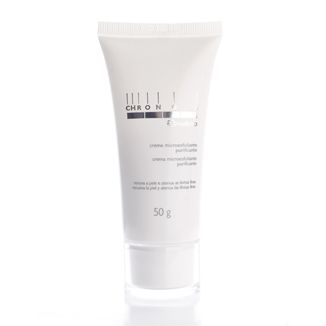 Natura Chronos Crema microexfoliante purificante  > Recomendable. No es agresivo a la piel y la deja suave. | Natura Chronos Purifying Microexfoliant Cream > I recommend it. Not harsh on skin. Smooth skin after use.