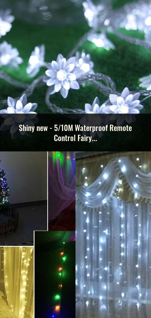 510m Waterproof Remote Control Fairy Lights Battery Operated Led