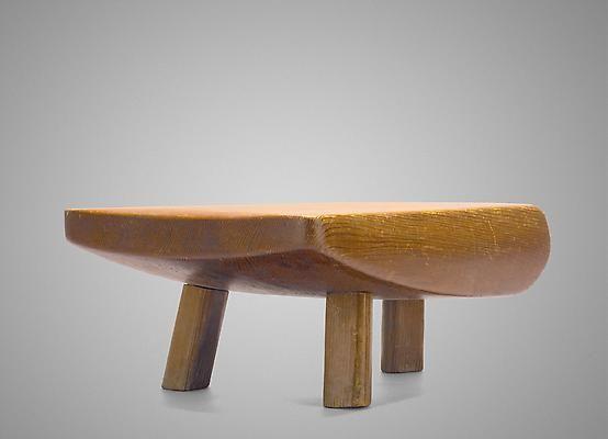 Pierre Székely, Pine stool, 1950