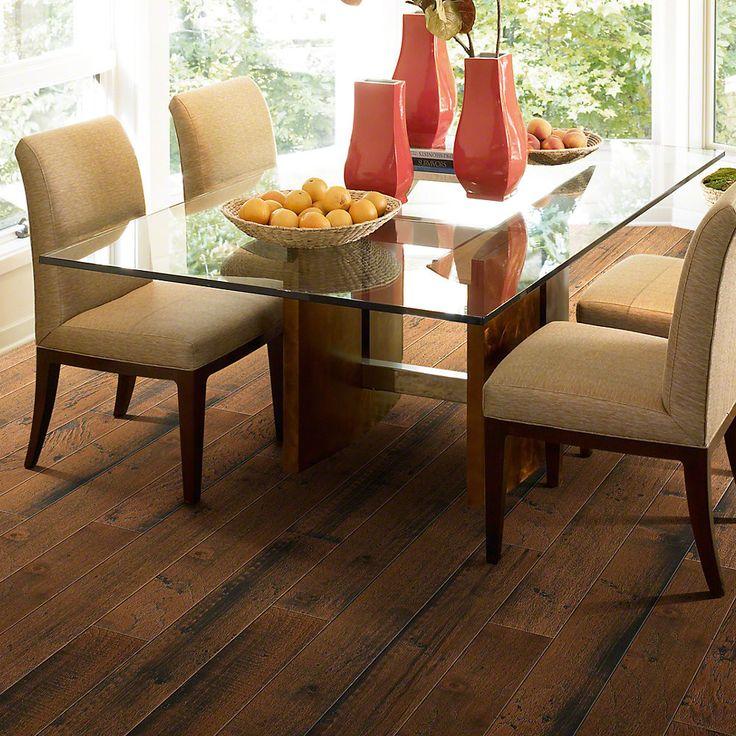 hardwood flooring pros and cons hickory hardness kitchen engineered smokehouse spice