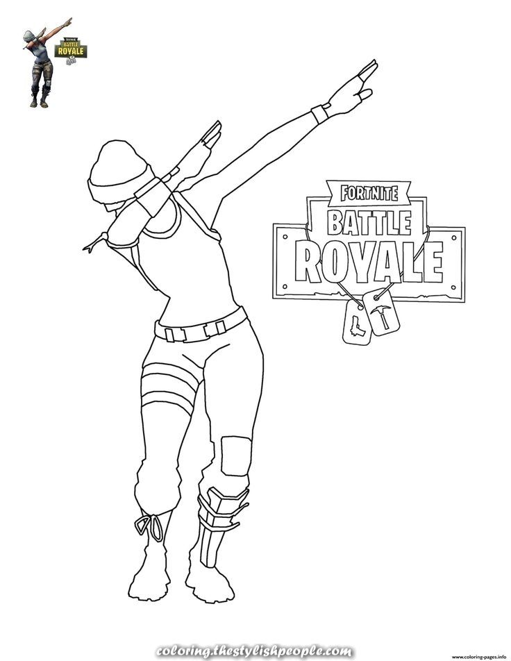 Legendary Print Fortnite Dab Coloring Pages Dance Coloring Pages Free Kids Coloring Pages Birthday Coloring Pages