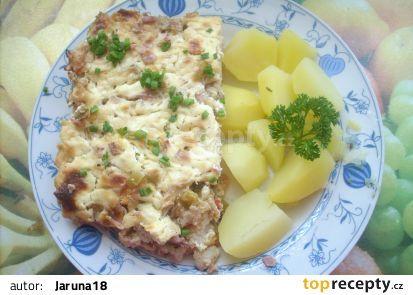 Zapečený Hermelín s květákem recept - TopRecepty.cz