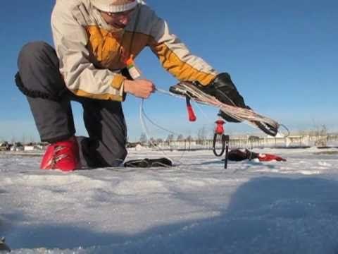 Initiation au Snowkite - YouTube