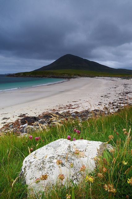 Northton Beach, Isle of Harris, Outer Hebrides Scotland