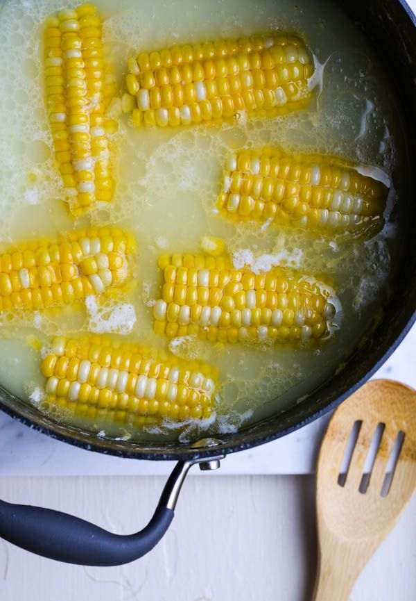 BUTTER BOILED CORN ON THE COB from Rachel Schultz-2