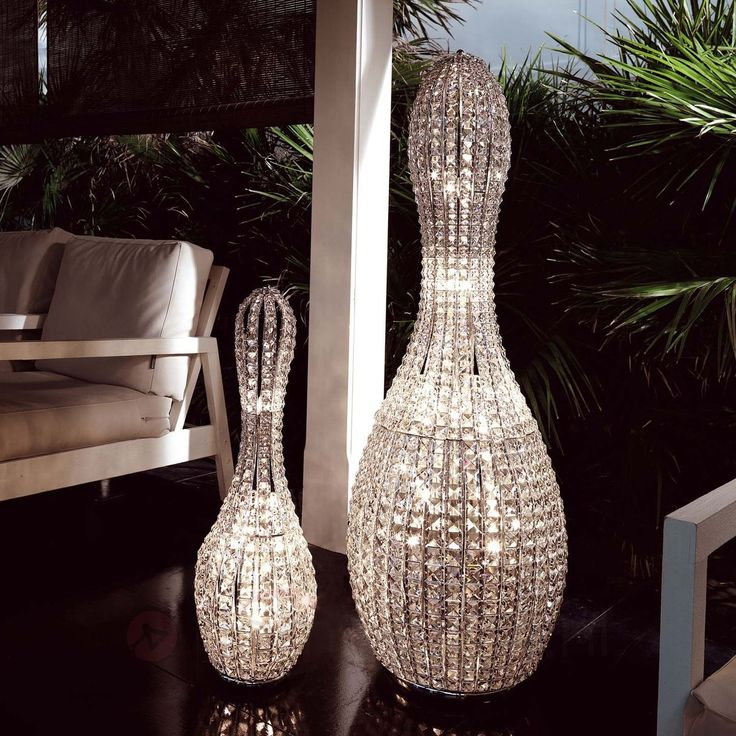 Charming Luxury And Elegant Lamp In Crystal Bowling Pin Shape U2013 Brillo Lamp