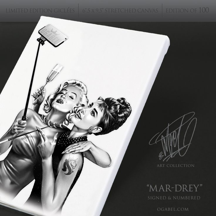21 best limited editions images on pinterest stretched for Marilyn monroe tattoo canvas