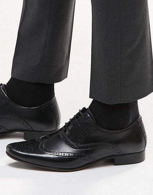 Brogue shoes, Mens smart shoes