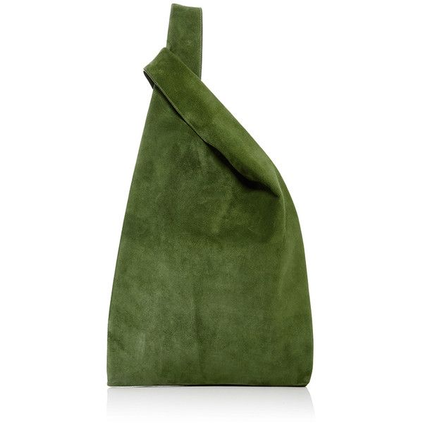 Hayward Suede Shopper (2 690 PLN) ❤ liked on Polyvore featuring bags, handbags, tote bags, green, suede handbags, green tote bag, slouchy handbags, suede tote and slouch handbags