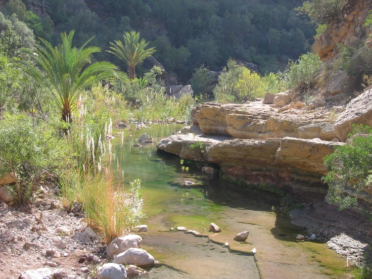 Vallée du paradis - Maroc