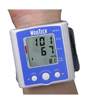 Wristech Digital Blood Pressure Monitor