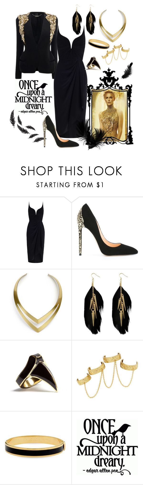 """""""Unbenannt #369"""" by funkenregen ❤ liked on Polyvore featuring Alexander McQueen, Zimmermann, Cerasella Milano, Jules Smith, Miso, DJ By Dominic Jones, House of Harlow 1960 and Halcyon Days"""