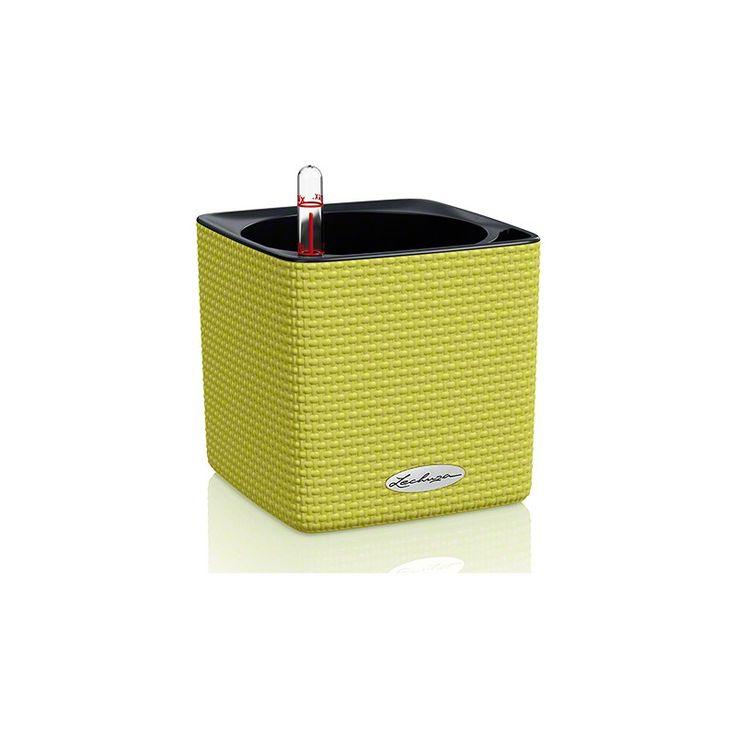 VasoCube Color14 con sistema di AUTO-IRRIGAZIONE - 14x14xh.14 cm - disponibile in 3 COLORI