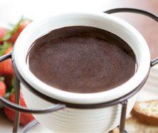 Chocolate Caramel Fondue - Everyday Style Recipe