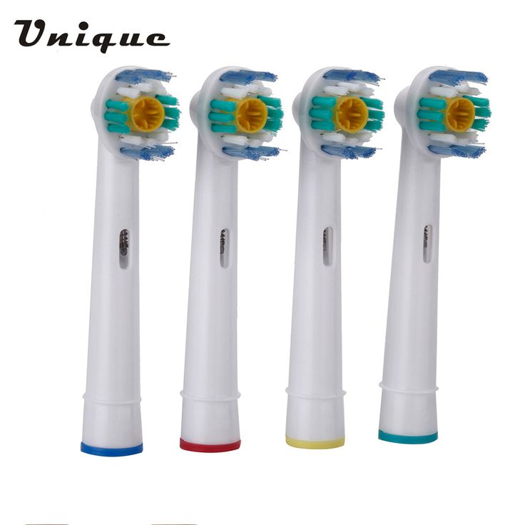 EB-18A Rotary B Electric Toothbrush Heads Replacement for Oral Hygiene for Braun Oral 4pcs/set Soft Bristles Tooth brush heads
