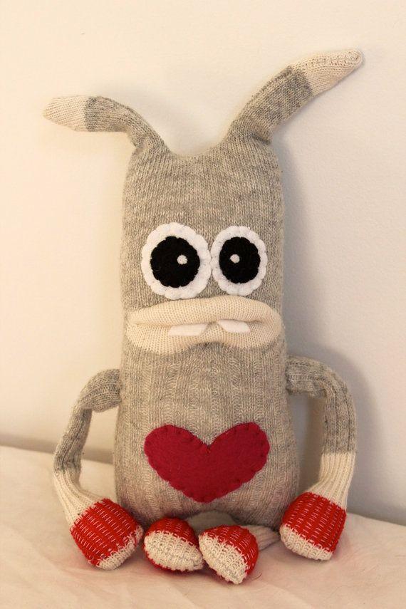 Sock monster love!
