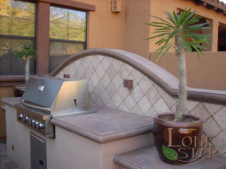Kitchen Countertops And Tile Backsplash