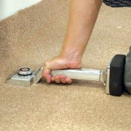 Carpet stretchers are manual tools used to stretch carpets across floorings to ensure a tight fit and reduce the risk of 'puddling'.
