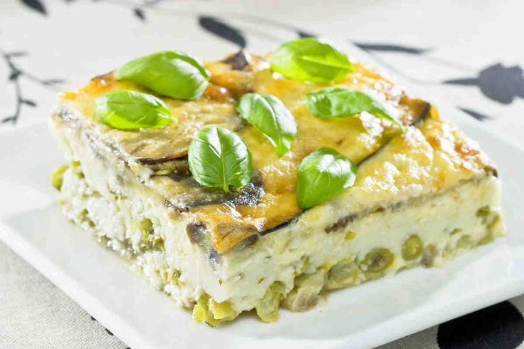 Zapiekanka z kuskusem i bakłażanami #przepisytesco #smacznastrona #bakłażan #zapiekanka #bazylia #fasolaszapragowa #obiad