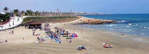 Playa Flamenca (Cala Penas, Cala Mosca and Cala Estaca)