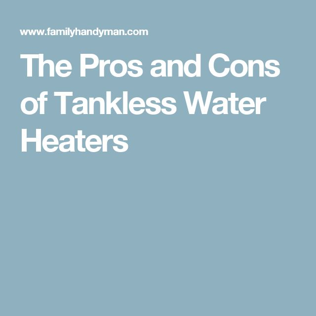 17 best ideas about water heaters on pinterest home for Basement pros and cons