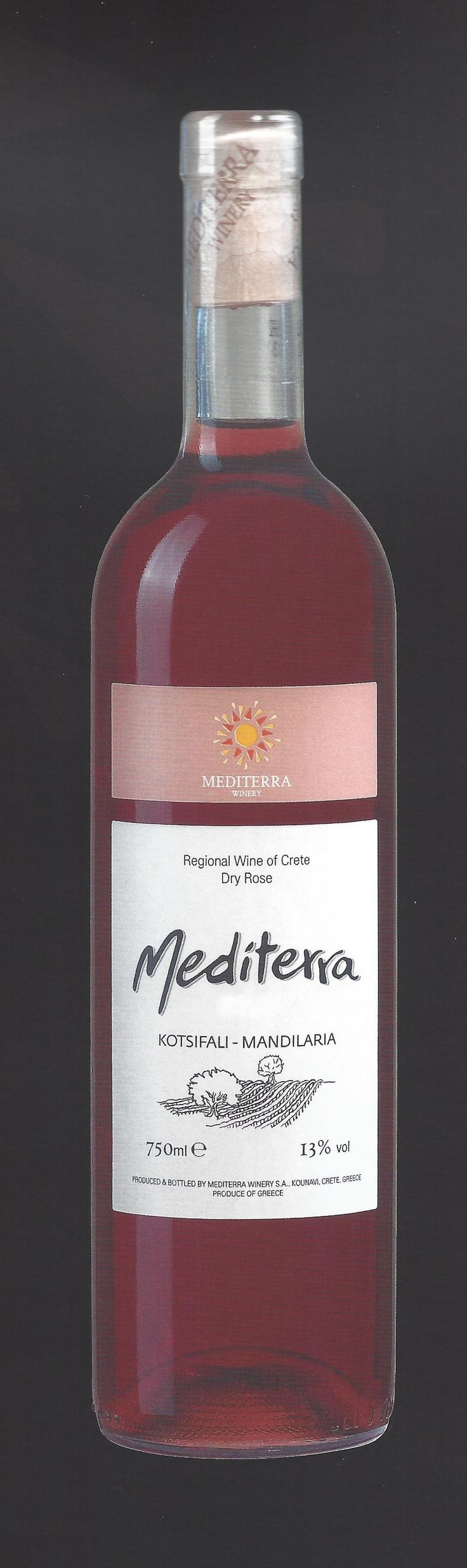 #Mediterra #Nexln #Wine of #Crete