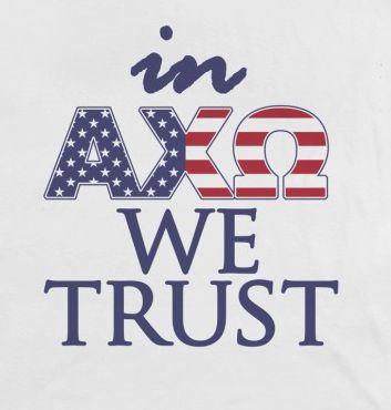 patriotic AXO ;)