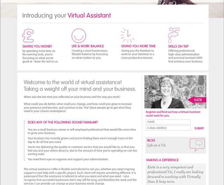 Virtually Does It - Website design and program for this awesome Virtual Assistant. #WebDesign #Source #Shrewsbury