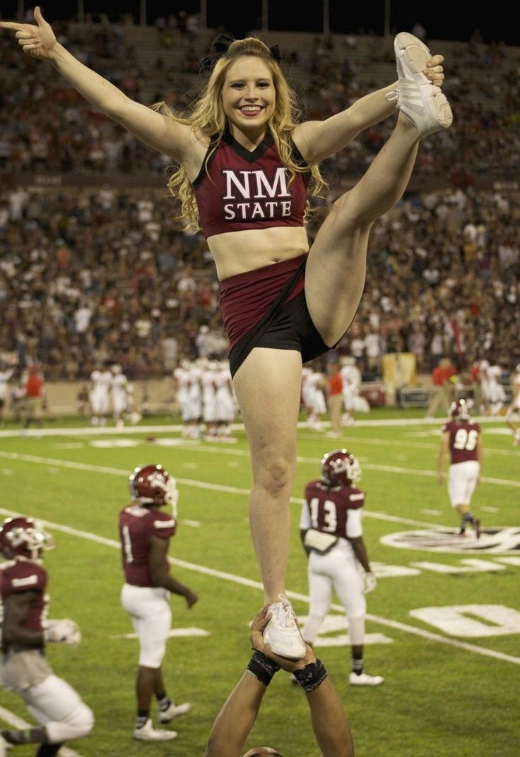 sexy for girls: More New Mexico State Cheerleaders
