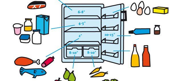 Der Utopia-Kühlschrank-Guide: Die ideale Temperatur liegt bei 7 Grad, im Gefrierbereich -18 Grad