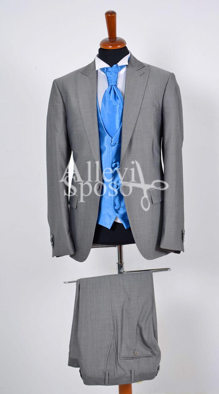 Abito Da Cerimonia Uomo Azzurro : Migliori idee su abiti grigio chiaro pinterest