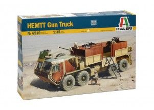 HEMTT Gun Truck scala 1:35