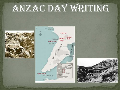 anzac essay This essay will highlight how these events created the anzac legend the gallipoli campaign and the anzac legend that emerged from it have had a significant impact on ideas about australia's national identity.