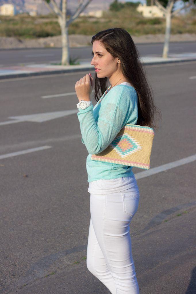 PASTEL MINT 21-5-2014  Jersey-Sweater – H&M Jeans – Zara Zapatillas/Shoes – Primark