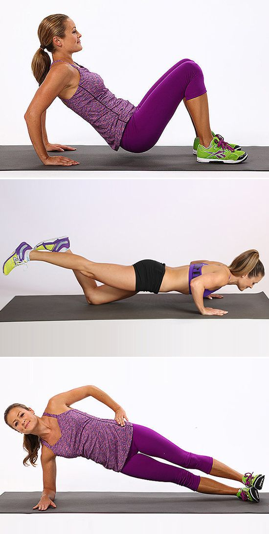 How to use your bodyweight to get toned muscles.