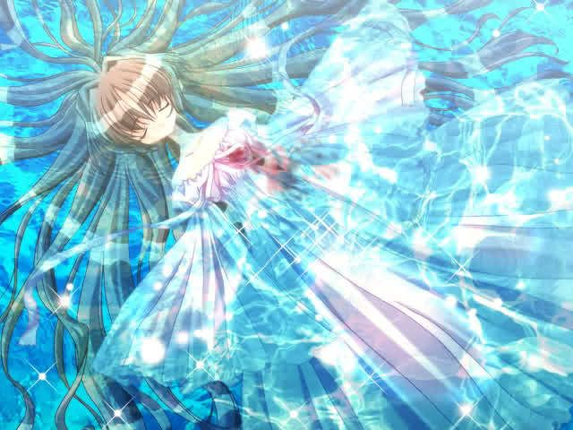 Anime Ice Girl | WATER: Your calm and cool. You find ...